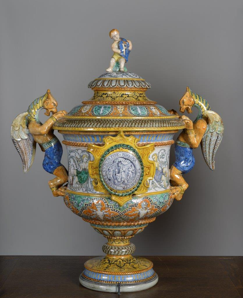 P167c - IMAGE Faience de Blois - Pot couvert_Photo F. Lauginie septembre 2015 (32)