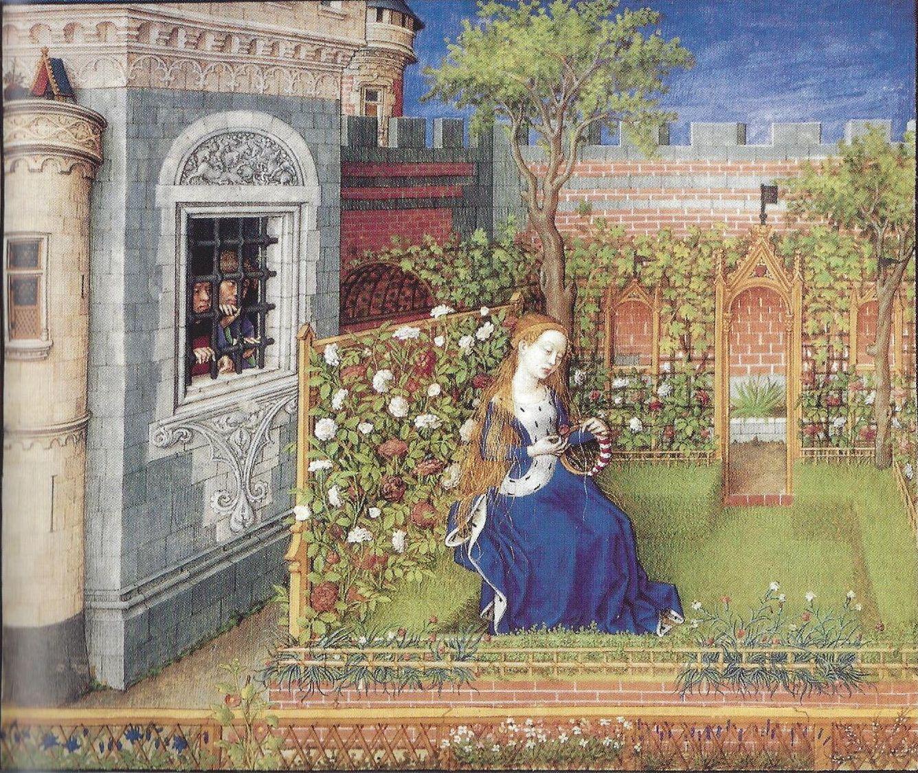 P172c - IMAGE Emilie dans son jardin