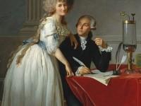 P202c - Portrait de Lavoisier et Mme par David... REDUIT