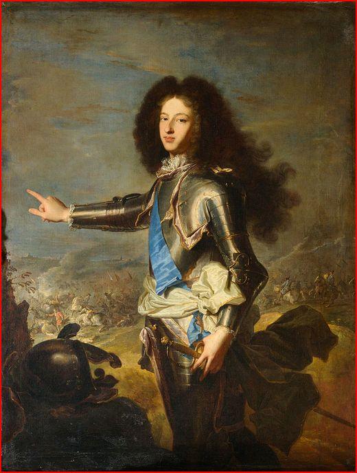 P124b  -  015b   Louis de France    1682-1712  par Hyacinthe Rigault