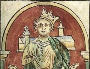 P194cc - Image JEAN SANS TERRE - Cotton Claudius D VI folio 9v