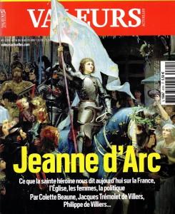 Jeanne, une femme entre modèle et exception (Colette Beaune dans Valeurs Actuelles) @ SSLLC | Blois | Centre-Val de Loire | France